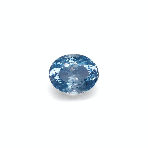 AQ0748 : 2.75ct Ice Blue Aquamarine – 10x8mm