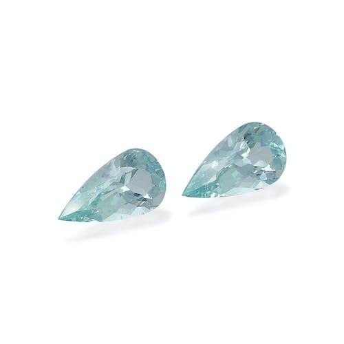 AQ0987 : 10.93ct  Aquamarine – Pair