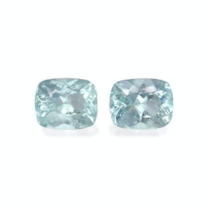 AQ1003 : 8.98ct  Aquamarine – 11x9mm Pair