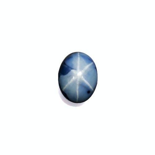 BR0057 : 2.98ct Blue Star Sapphire – 8x6mm
