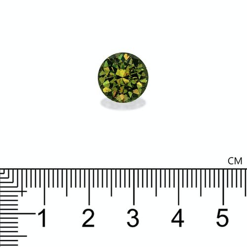 DG0005 2.jpg?auto=format&ixlib=php 3.3 - 7.29ct Moss Green Demantoid Garnet stone 11mm