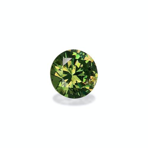 DG0011 1.jpg?auto=format&ixlib=php 3.3 - 3.54ct Pistachio Green Demantoid Garnet stone 9mm