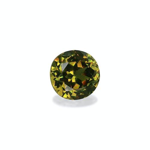 DG0047 : 1.32ct Moss Green Demantoid Garnet – 6mm