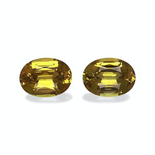 GG0032 : 4.96ct Golden Yellow Grossular Garnet – 9x7mm Pair