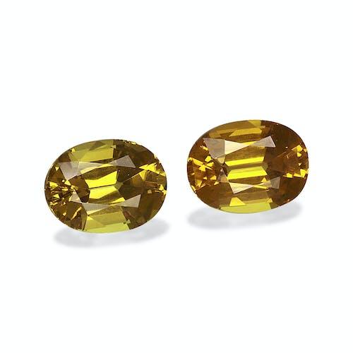 GG0047 : 3.49ct Golden Yellow Grossular Garnet – 8x6mm Pair