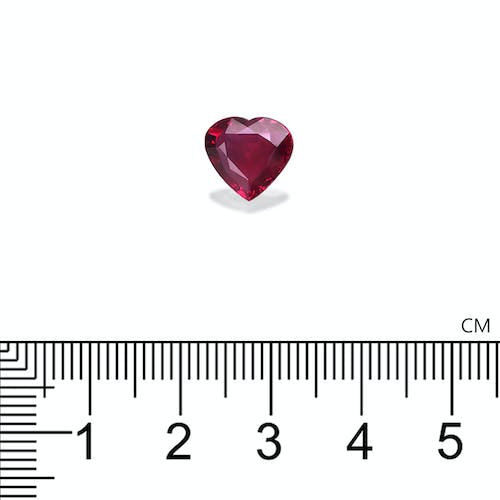 J12-08 : 3.01ct Unheated Mozambique Ruby