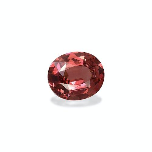 MG0030 : 5.51ct Rosewood Pink Malaya Garnet – 12x10mm
