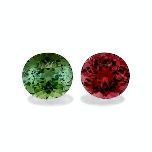 MT0052 : 17.93ct Compliment Colour Tourmaline – Pair