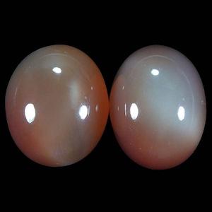 OM0069 : 253.63ct Orange Moon Stone