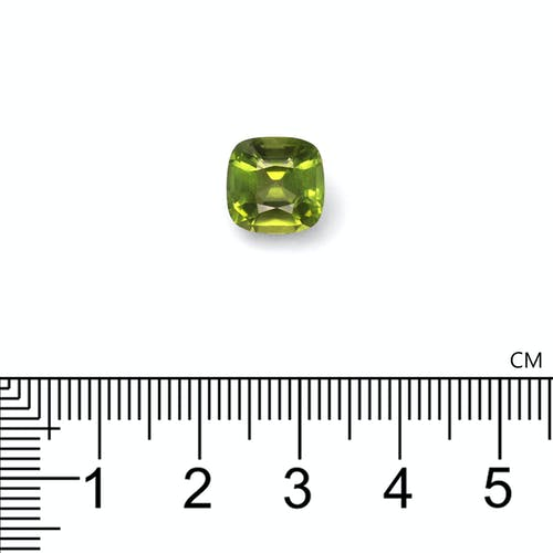 PD0177 : 4.05ct Pistachio Green Peridot – 9mm