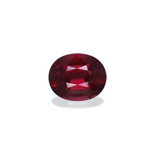 RD0266 : 4+ct Rose Red Rhodolite Garnet – 11x9mm