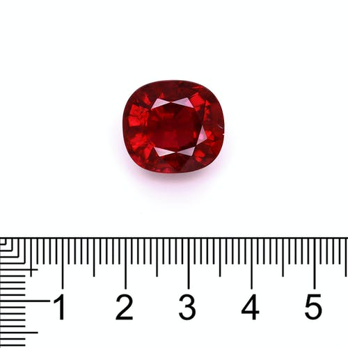 RL0914 : 12.43ct Cherry Red Rubelite