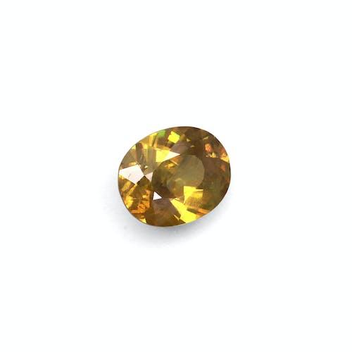 SH0410 1.jpg?auto=format&ixlib=php 3.3 - 3.60ct Forest Green Sphene stone 11x9mm