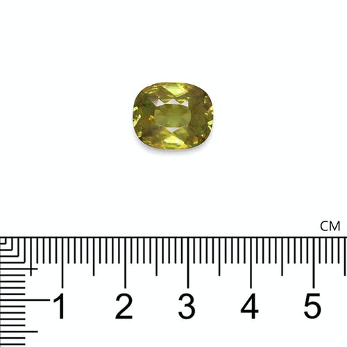 SH0493 2.jpg?auto=format&ixlib=php 3.3 - 5.25ct Pistachio Green Sphene stone 13x11mm