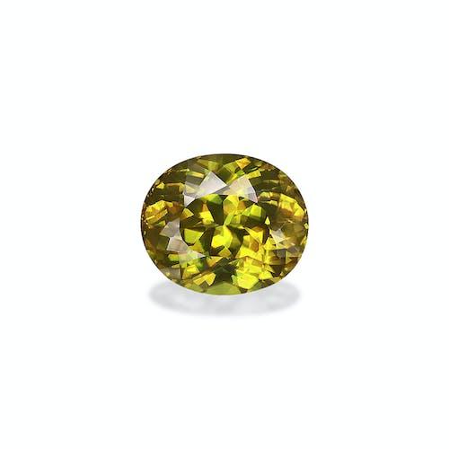 SH0517 : 10.21ct Yellow Sphene – 14x12mm