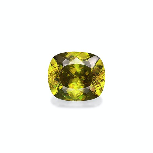 SH0519 : 10.77ct Yellow Sphene – 15x13mm