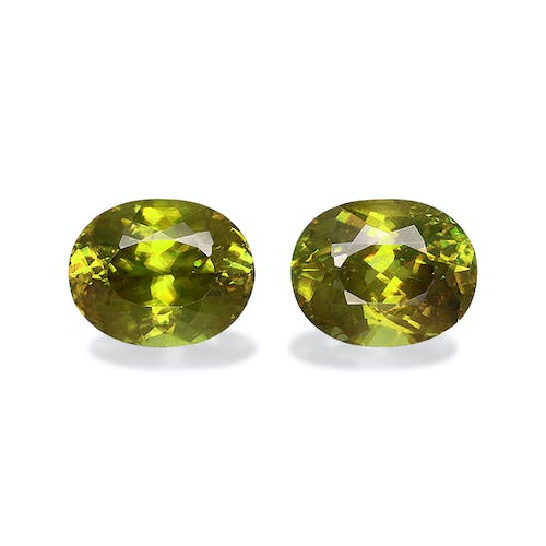 SH0674 : 6.78ct  Sphene – 10x8mm Pair