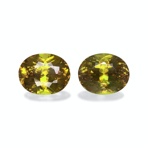 SH0676 : 6.79ct  Sphene – 10x8mm Pair