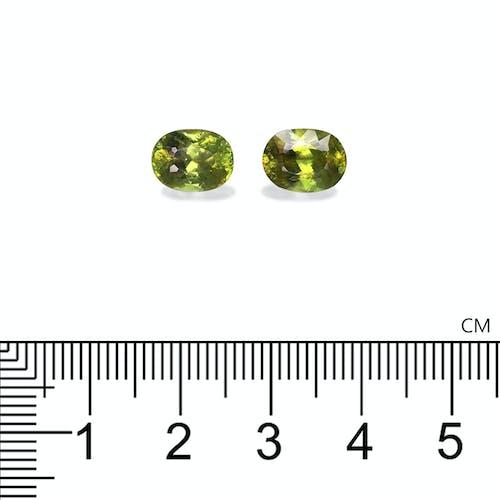 SH0680 : 4.13ct  Sphene – 9x7mm Pair