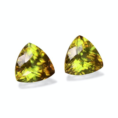 SH0691 : 7.46ct  Sphene – 10mm Pair