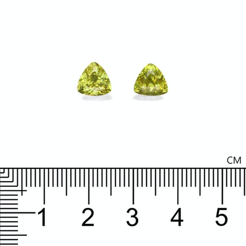 SH0696 : 3.21ct  Sphene – 7mm Pair