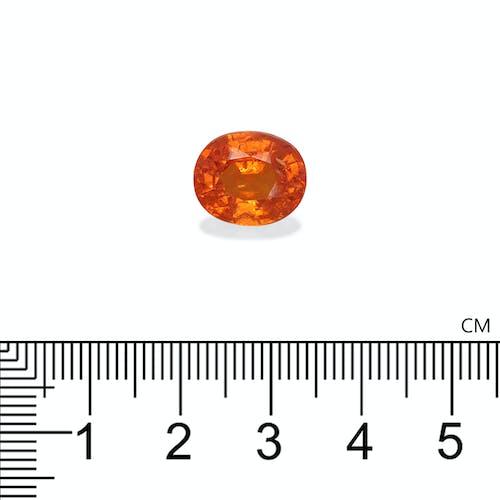 ST1644 : 8.09ct Orange Spessartite – 12x10mm