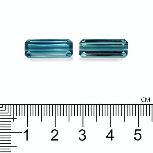TB0129 : 10.65ct Indicolite Blue Tourmaline – Pair