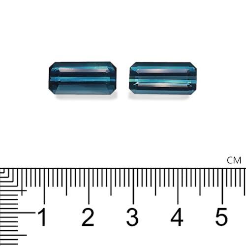 TB0142 : 10.33ct Indicolite Blue Tourmaline – Pair