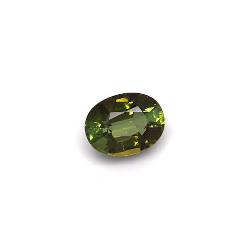 TG0124 : 21.17ct Basil Green Tourmaline – 20x15mm