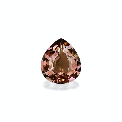 TG0145 : 12.93ct Rosewood Pink Tourmaline – 18x16mm