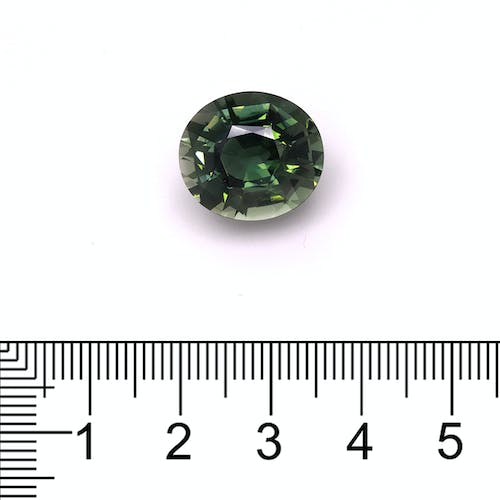 TG0330 : 11.88ct Green Tourmaline Scale Image