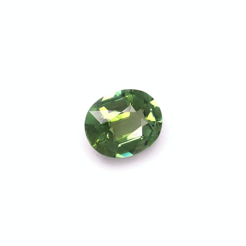 TG0382 : 4.94ct Cotton Green Tourmaline – 13x11mm