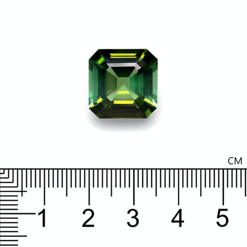 TG0443 : 14.94ct Cotton Green Tourmaline – 15mm