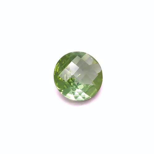 TG0637 : 7.20ct Green Tourmaline Back Image