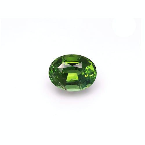 TG0650 : 12.15ct Vivid Green Tourmaline