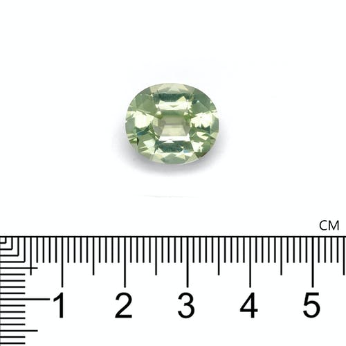 TG0776 : 9.19ct Pale Green Tourmaline – 15x13mm