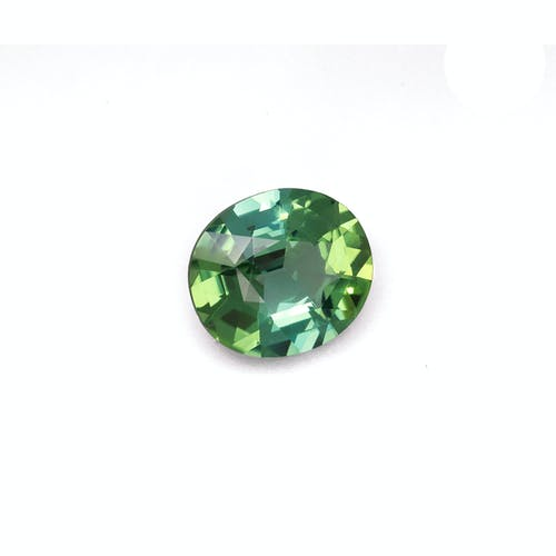 TG0779 : 8.37ct Vivid Green Tourmaline – 15x13mm