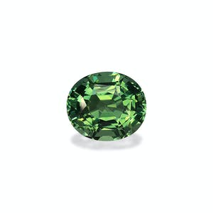 TG0959 : 7.34ct Vivid Green Tourmaline – 13x11mm