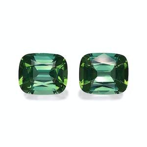 TG1075 : 16.76ct Green Tourmaline – 13x11mm Pair