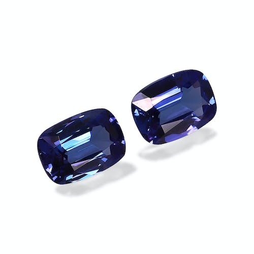 TN0035 : 5.25ct AAA+ Blue Tanzanite – Pair