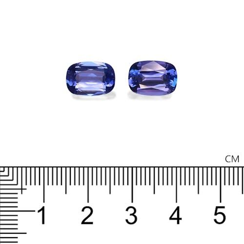 TN0058 : 6.83ct AAA+ Violet Blue Tanzanite – Pair