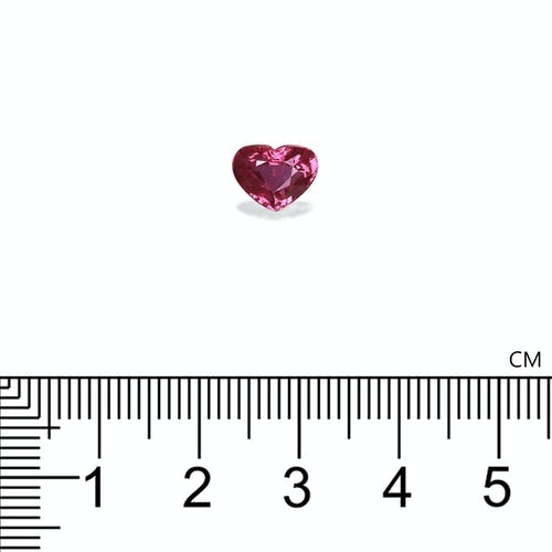 UX4503-05 : 2.02ct Unheated Mozambique Ruby – 8x6mm