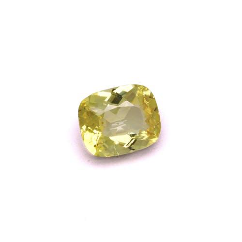 YT0040 : 6.10ct Yellow Tourmaline Back Image