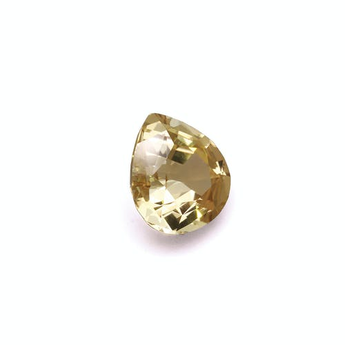 YT0065 : 9.71ct Yellow Tourmaline Back Image