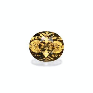 ZI0025 : 12.15ct Pineapple Yellow Zircon  – 14x12mm
