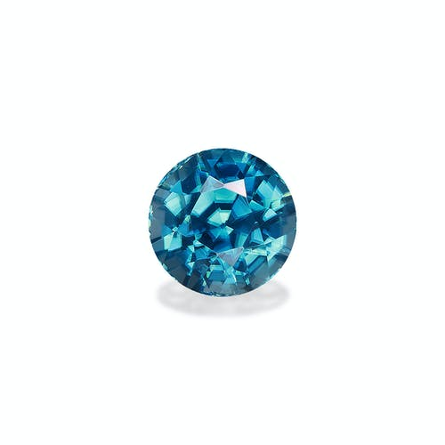ZI0079 : 3.29ct Cambolite Blue Zircon  – 7mm