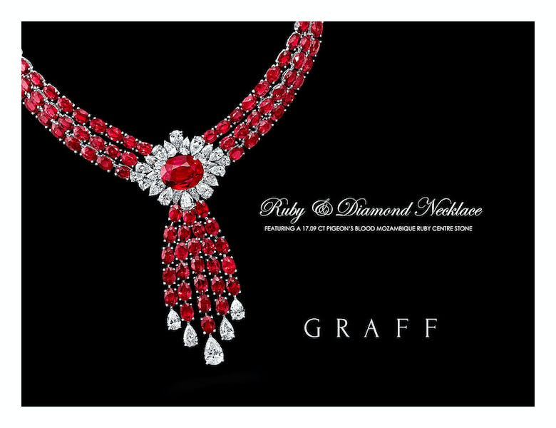 african rubies - african ruby necklace graff