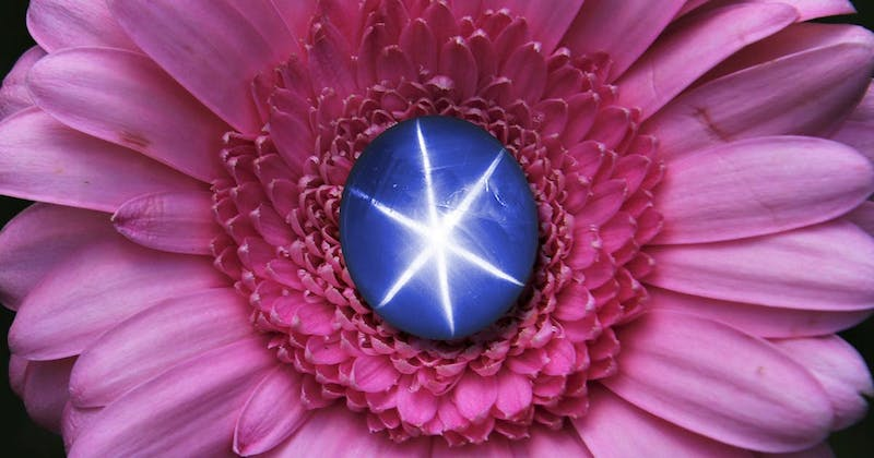 The Real Star on Earth: Blue Star Sapphire